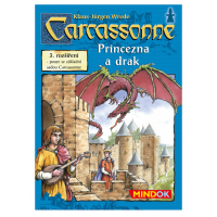Mindok 300136 - CARCASSONNE Princezna a drak 3. rozšíření