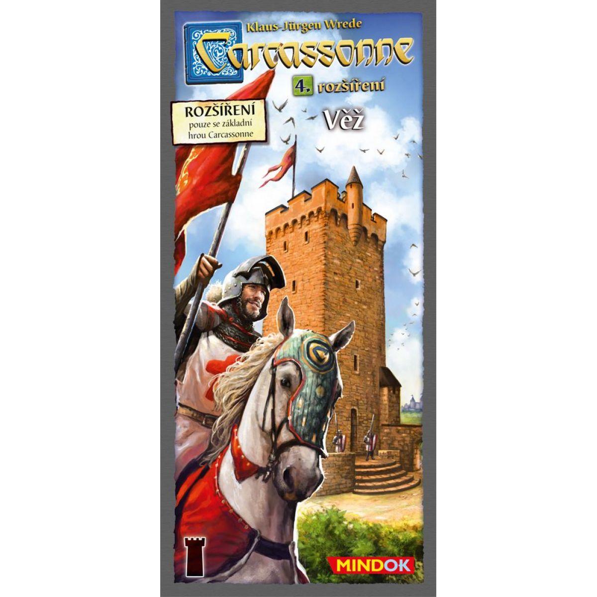 Mindok 300143 - CARCASSONNE Věž - 4. rozšíření