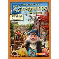 Mindok Carcassonne 5. rozšíření Opatství a starosta