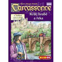 Mindok 300051 - CARCASSONNE Král, hrabě a řeka - 6. rozšíření