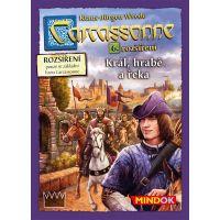 Mindok Carcassonne 6. rozšírenie Kráľ Gróf a Rieka