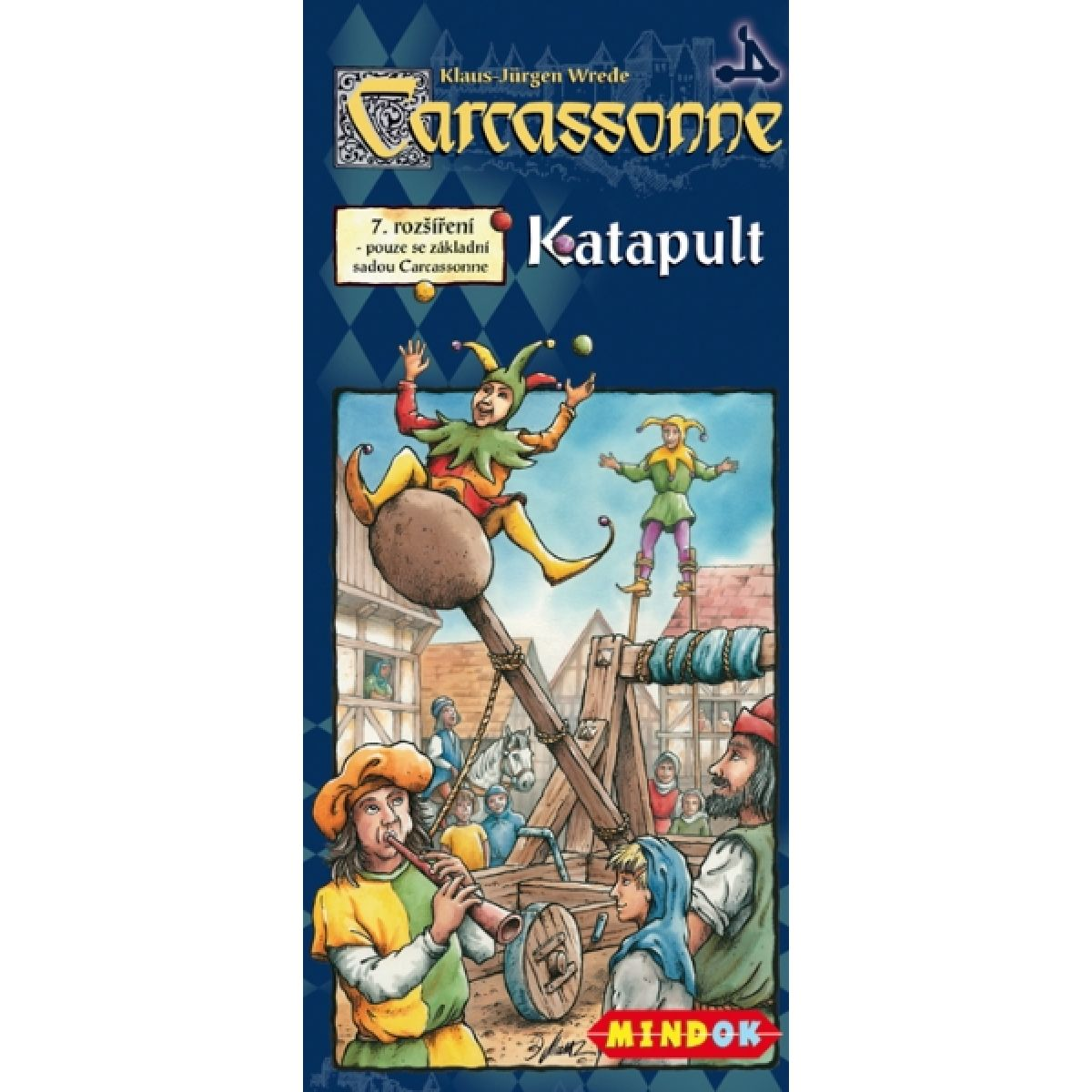 Mindok 300266 - CARCASSONNE Katapult - 7. rozšíření