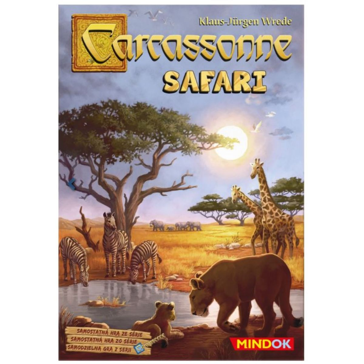 Mindok Carcassonne Safari