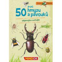 Mindok Expedice příroda 50 druhů hmyzu a pavouků