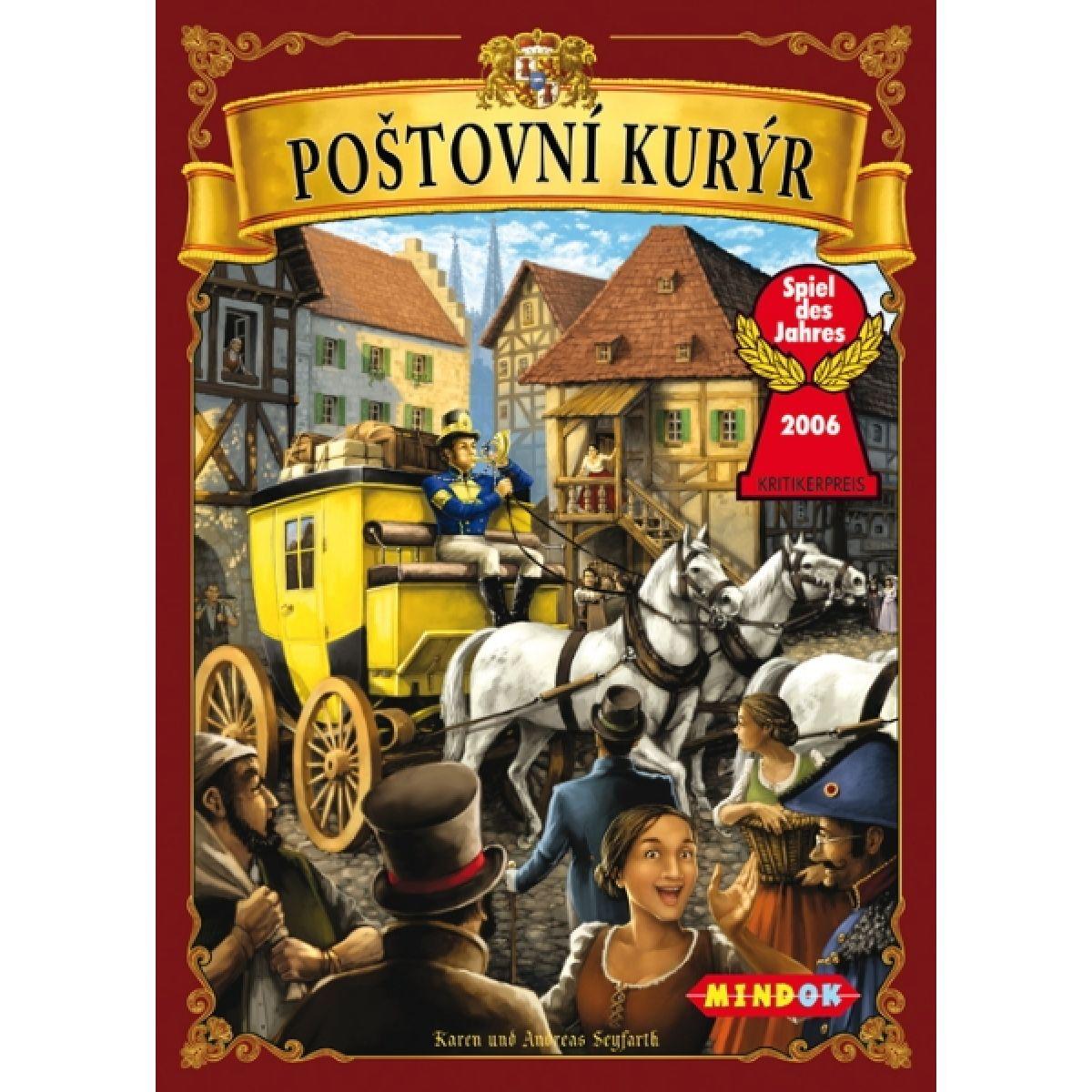 Mindok 090133 - Poštovní kurýr