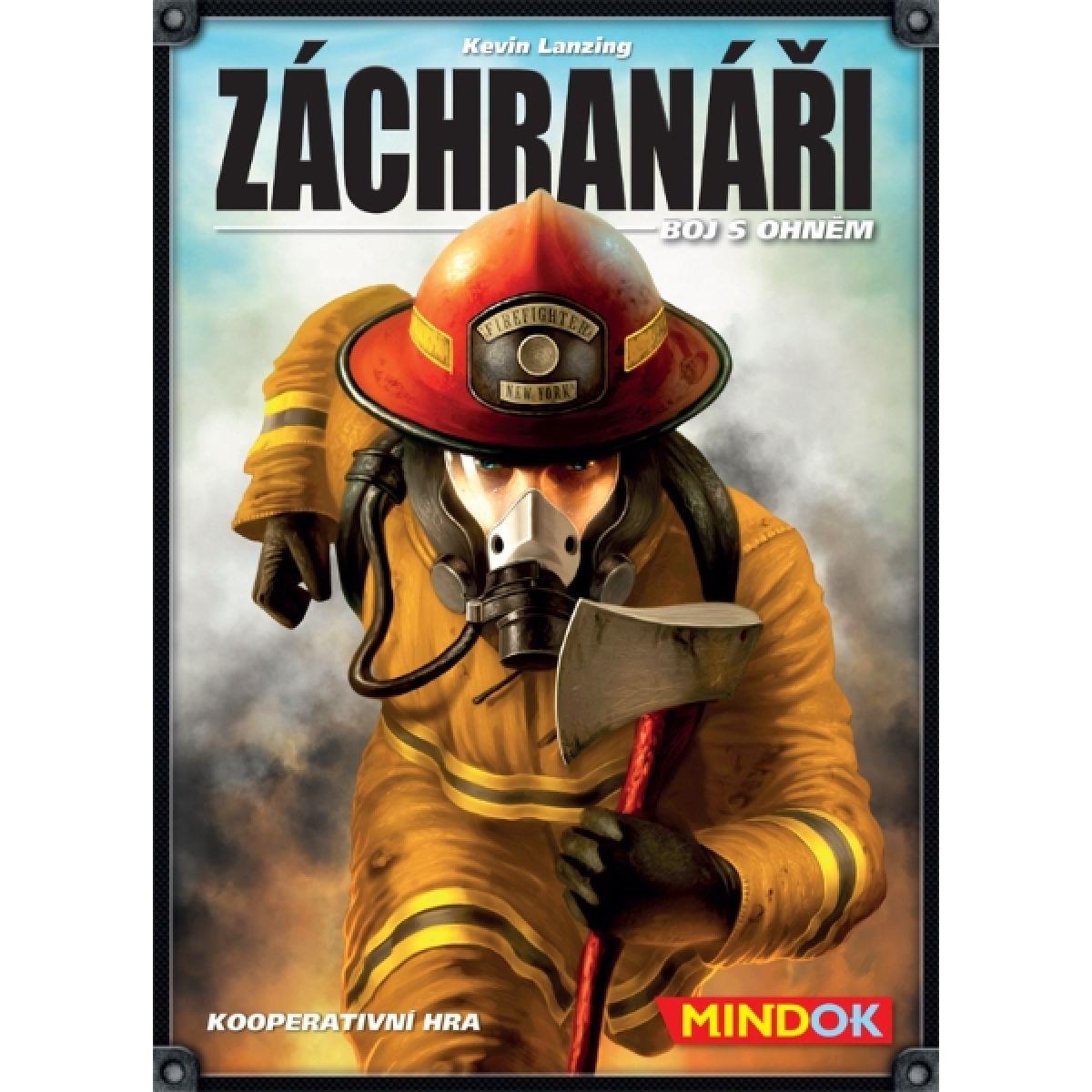 Mindok 301102 - Záchranáři: Boj s ohněm