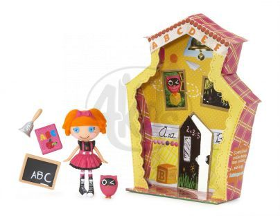 Mini Lalaloopsy Panenka s doplňky a domečkem - Bea Spels a Lot