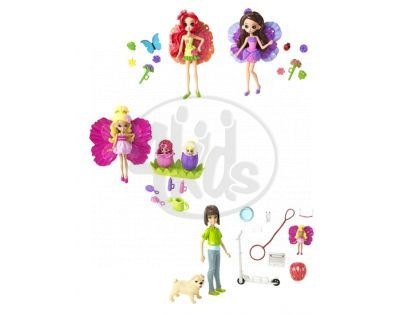 Barbie N7448 - Barbie mini víly Thumbeliny