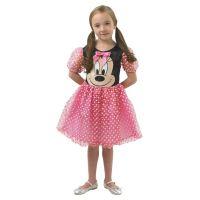 Rubie's Minnie Mouse růžový kostým velikost S