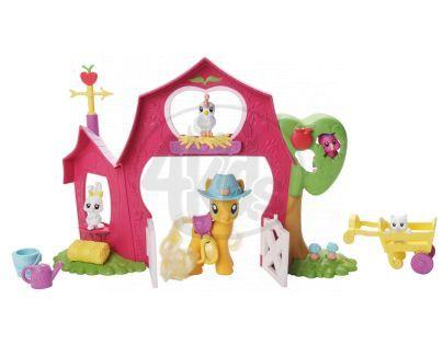 """Hasbro 27861_21460 - My little Pony - Malý hrací set  """"Jablková zahrada"""""""