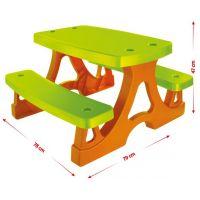 Mochtoys Piknikový stolek s lavičkami 2