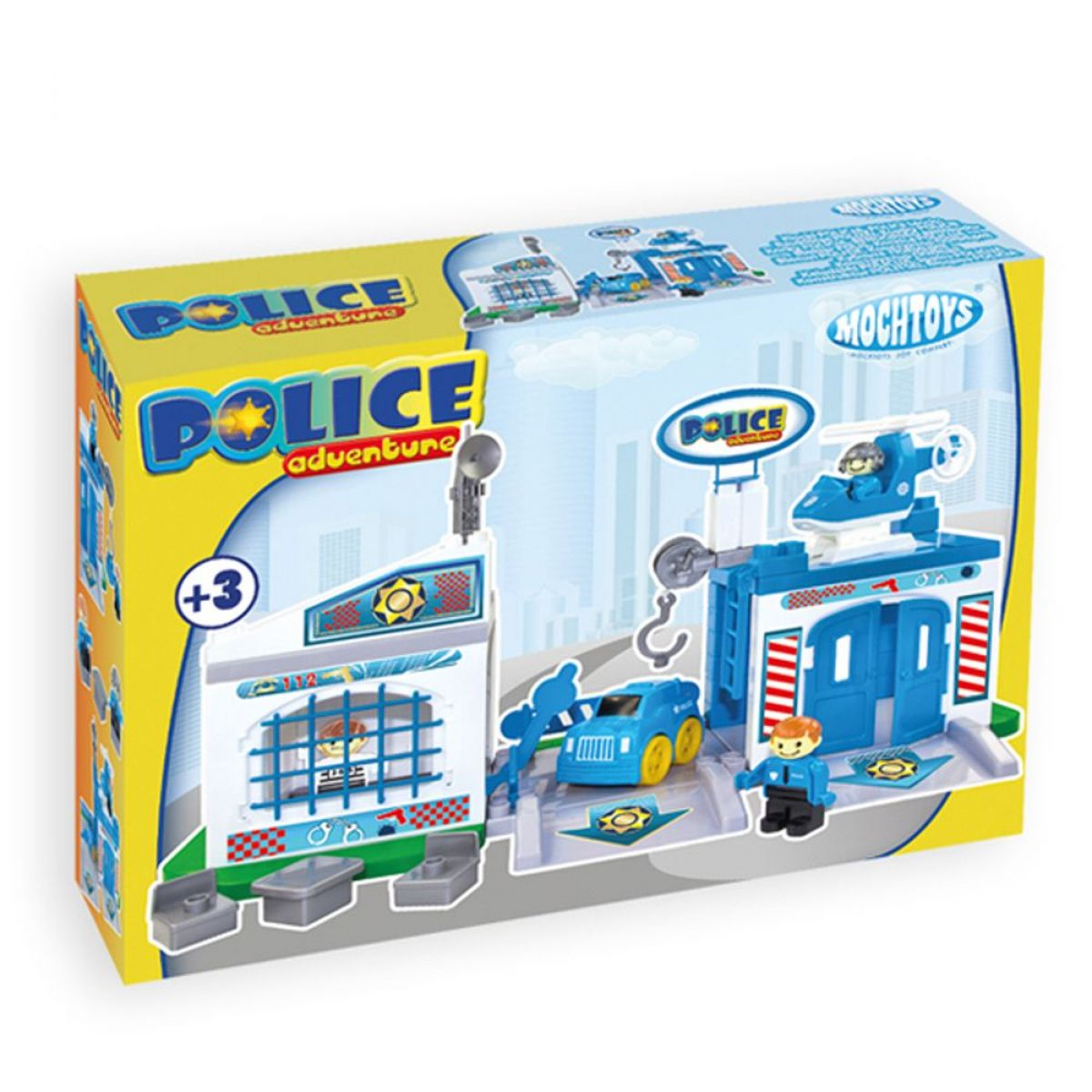 Mochtoys Policejní stanice Mochtoys