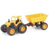 Mochtoys Traktor s přívěsem