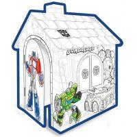 Mochtoys Transformers Papírový vymalovávací domek
