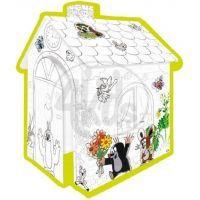 MOCHTOYS 10755 - Domek na vymalování Krteček