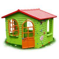 Mochtoys Zahradní domek s okny a dveřmi