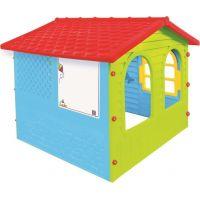 Mochtoys Zahradní domek červená střecha 3