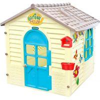 Mochtoys Zahradní Domek modré dveře