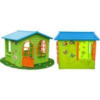 Mochtoys Zahradní domek s okny a dveřmi 2