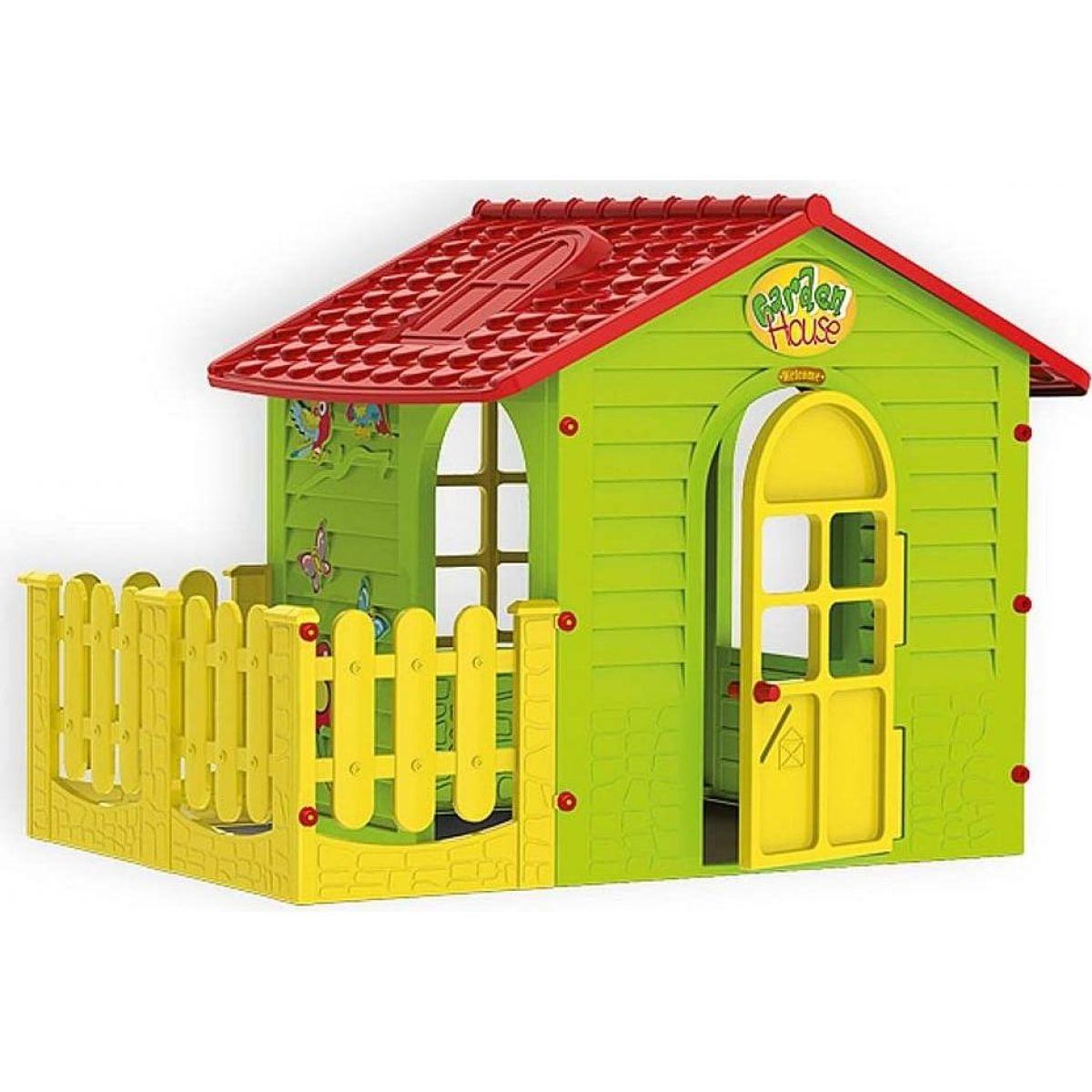 Mochtoys Zahradní domek s plotem - Poškozený obal