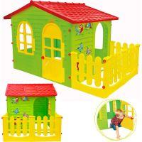 Mochtoys Zahradní domek s plotem - Poškozený obal 5