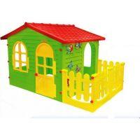 Mochtoys Zahradní domek s plotem - Poškozený obal 6