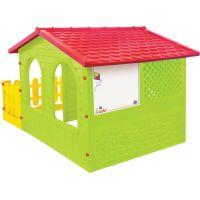 Mochtoys Zahradní domek s plotem a krmítkem 4