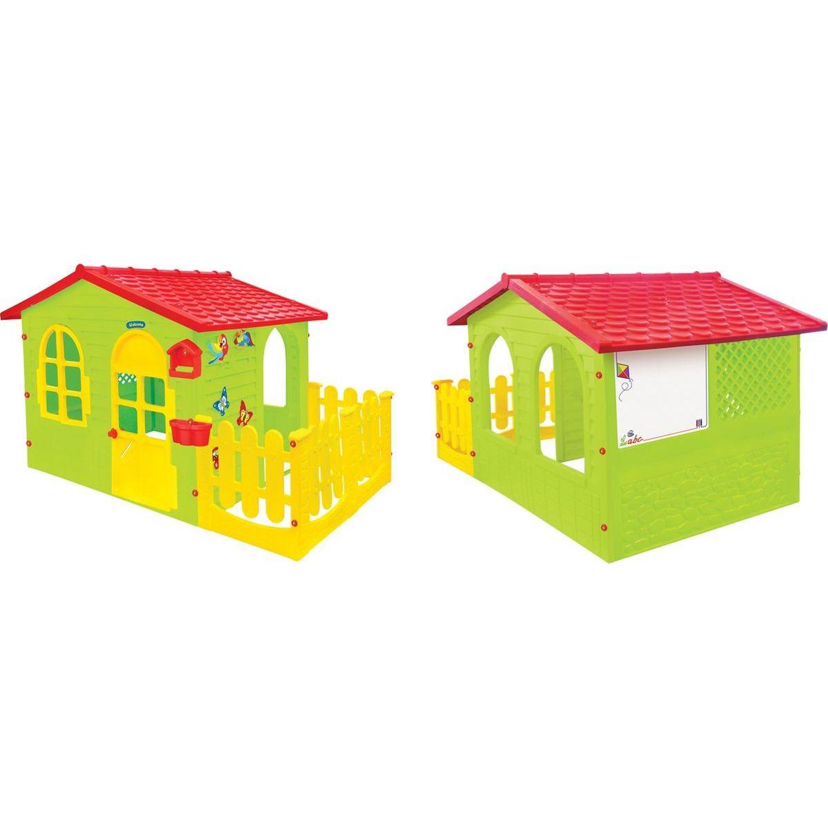 Mochtoys Zahradní domek s plotem a krmítkem