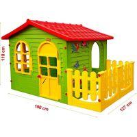 Mochtoys Zahradní domek s plotem 2