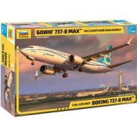 Zvezda Model Kit letadlo Boeing 737- 8 MAX 1:144