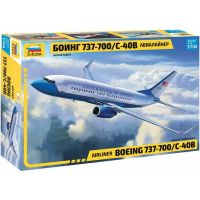 Zvezda Model Kit letadlo Boeing 737-700 C-40B 1:144