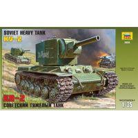 Zvezda Model Kit tank 3608 Soviet heavy tank KV-2 1:35
