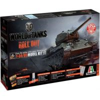 Italeri Model Kit World of Tanks T-34 85 1:35
