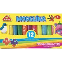 Modelína 12 barev v krabičce
