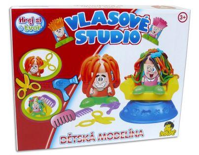 Made Modelína Tvořivá sada Vlasové studio