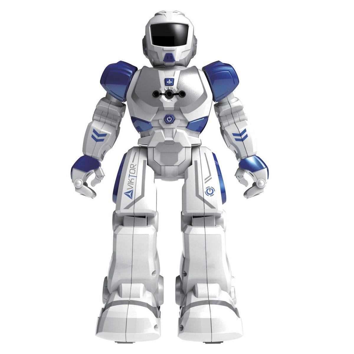 Made Modrý Robot Viktor na IR dálkové ovládání