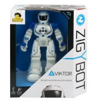Modrý Robot Viktor na IR diaľkové ovládanie 4