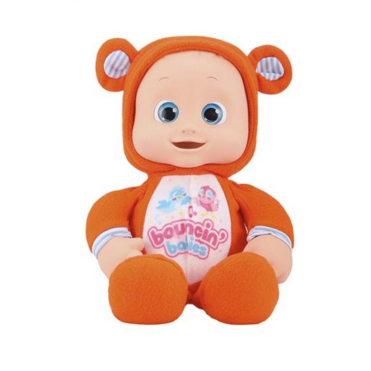 Alltoys Moje první miminko Bouncin Babies usínáček oranžová
