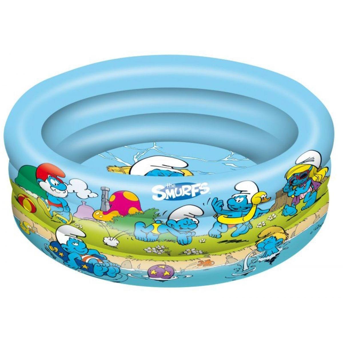 Mondo Šmoulové Nafukovací bazén 90 cm