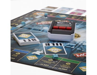 Hasbro Monopoly Ultimate Banking CZ