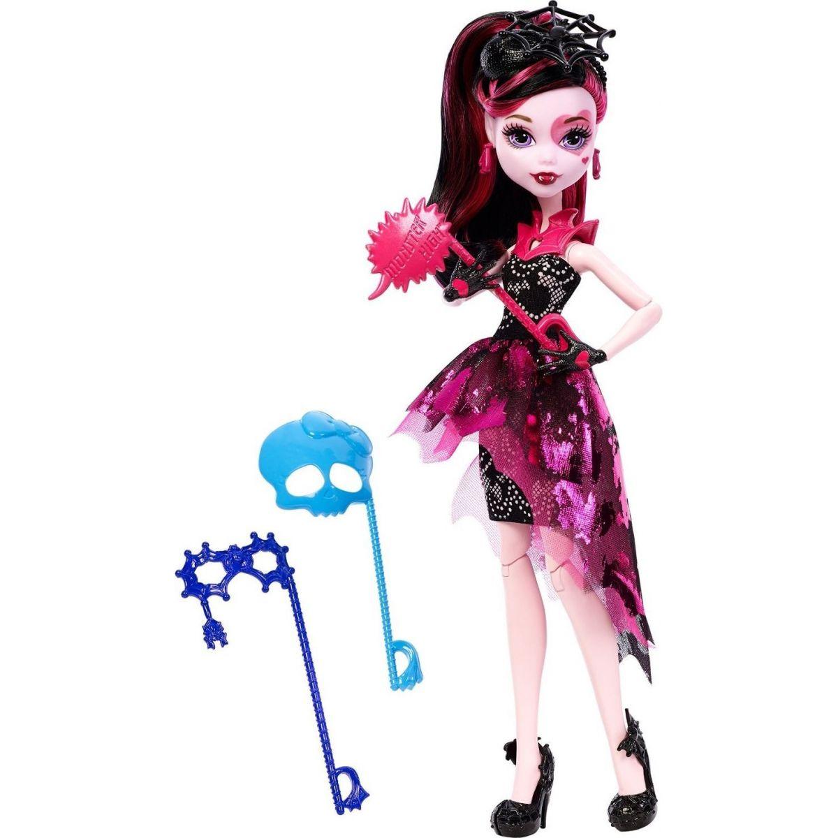 Monster High Monsterka s doplňky do fotokoutku - Draculaura DNX33