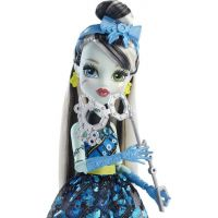 Monster High Monsterka s doplňky do fotokoutku - Frankie Stein DNX34 2