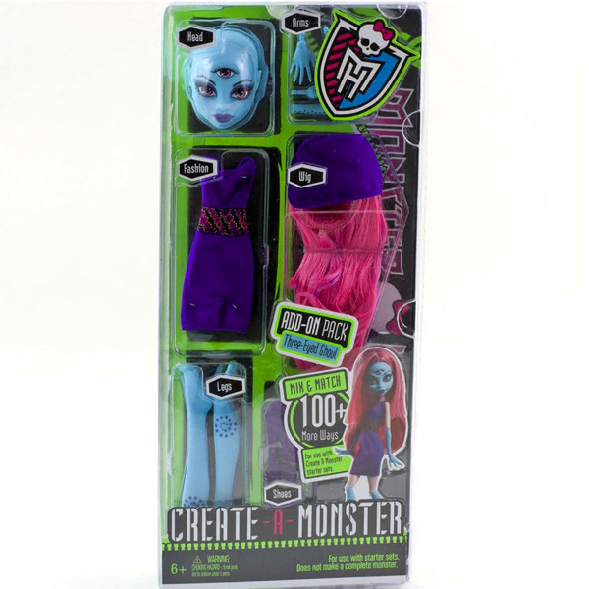 Monster High Sestav si příšerku Doplňky - Duch