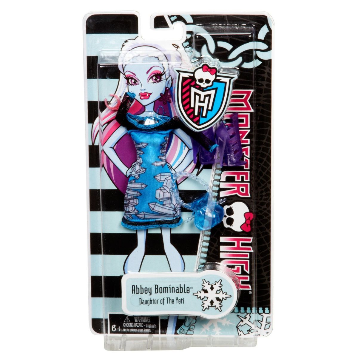 Monster High  Y0584 Monster hadříky - Lagoona Blue