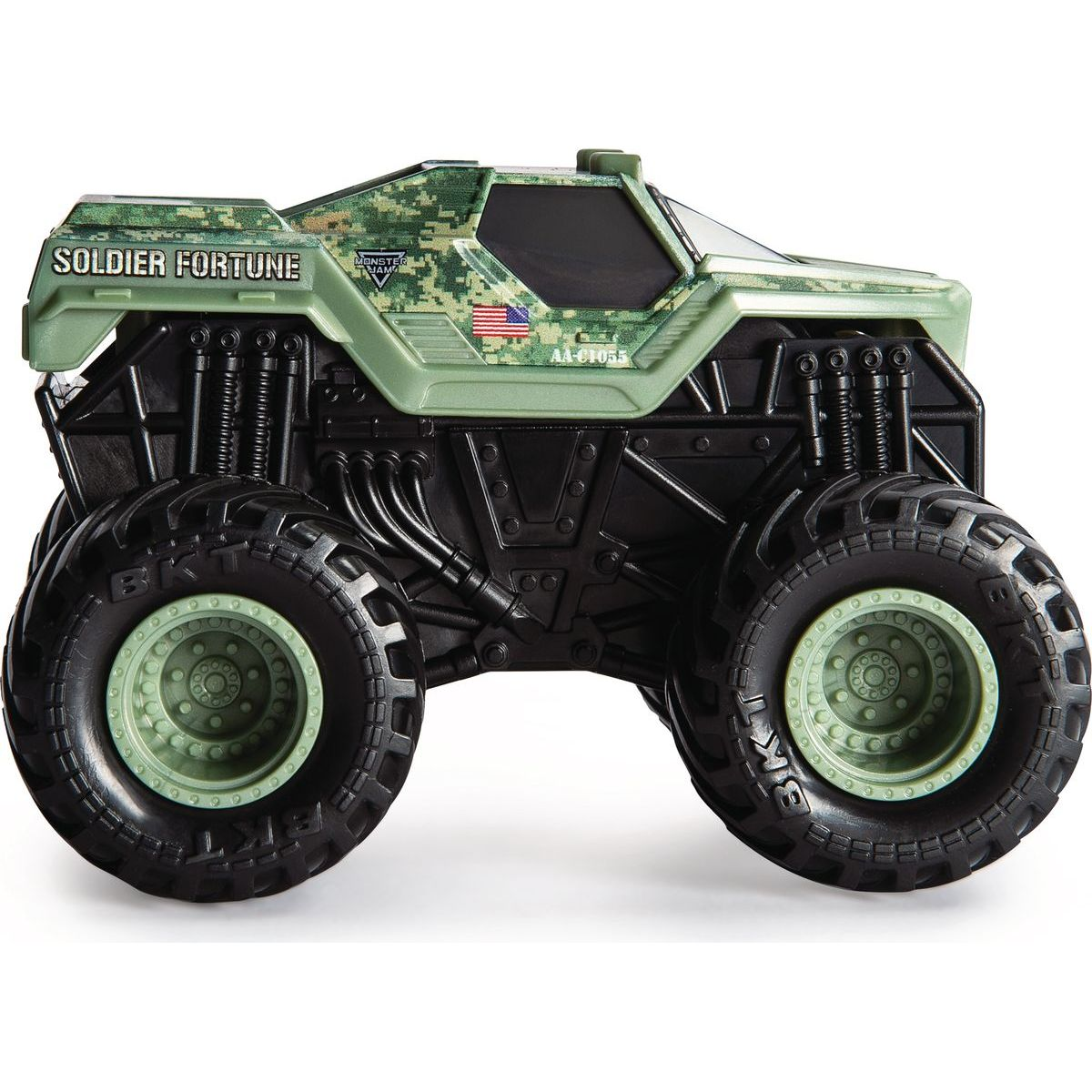 Monster Jam Auta se zvuky 1:43 Soldier Fortune