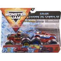 Monster Jam Sběratelská auta dvojbalení 1:64 El Toro Loco a Cyclops