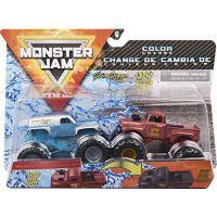 Monster Jam Sběratelská auta dvojbalení 1:64 Grave Digger a Grave Digger