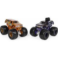 Monster Jam Sběratelská auta dvojbalení 1:64 Mohawk Warrior a Jester