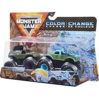 Monster Jam Sběratelská auta dvojbalení 1:64 Mohawk Warrior a W