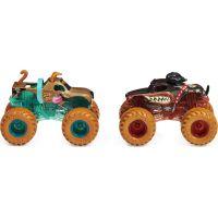 Monster Jam Sběratelská auta dvojbalení 1:64 Monster Mutt Scooby-Doo